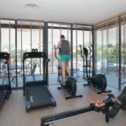 Hôtel Linko - espace fitness