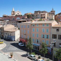 Hôtel Linko - vue de la vieille ville depuis la terrasse